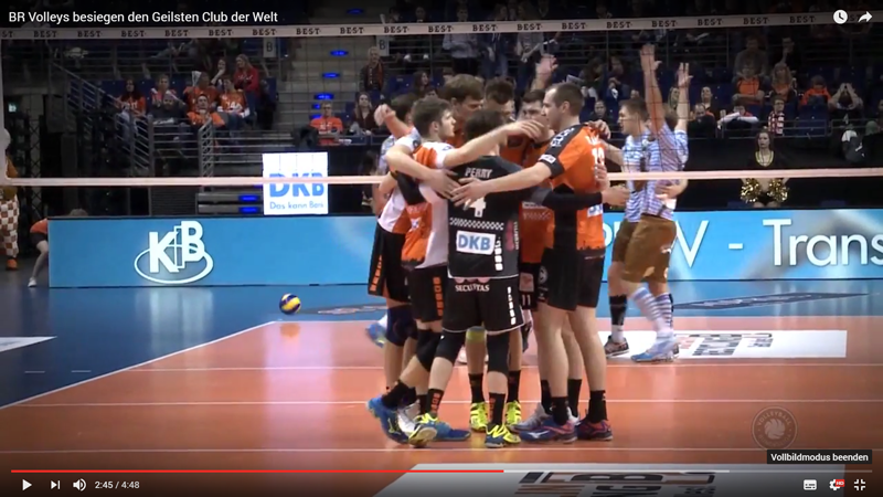 BR Volleys besiegen den TSV Herrsching