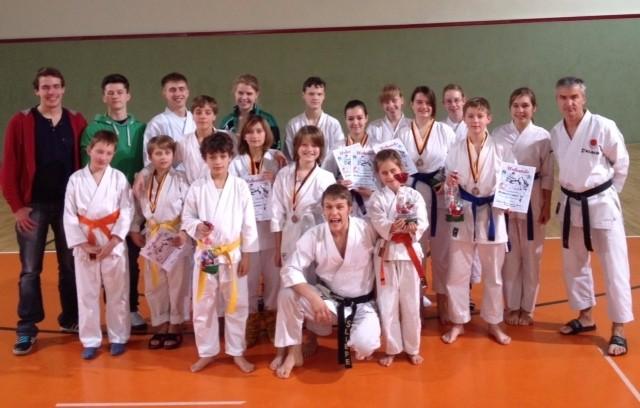 Nikolaus – Karate -Turnier 2012, ein voller Erfolg