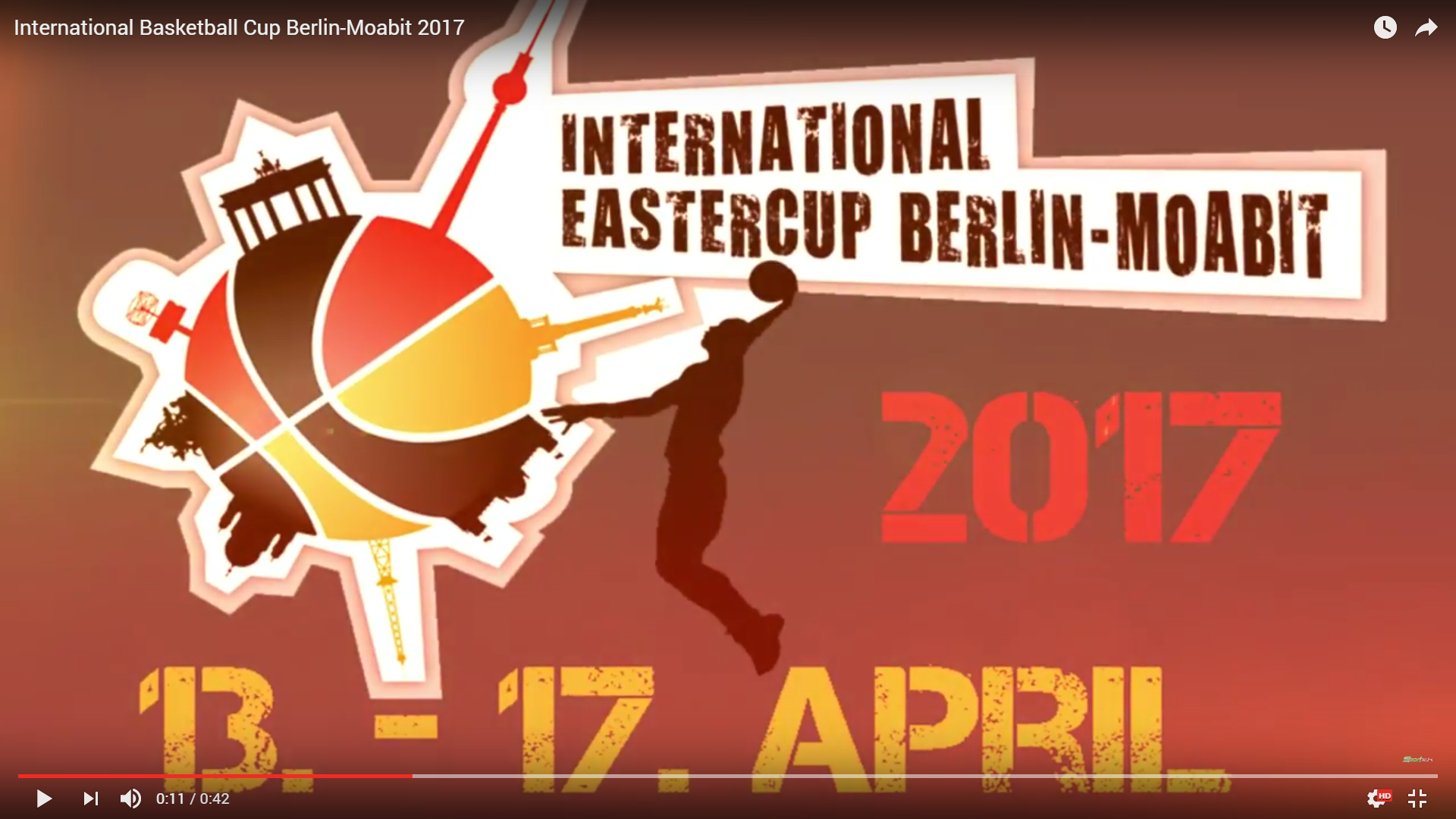 International Basketball Cup Berlin-Moabit 2017