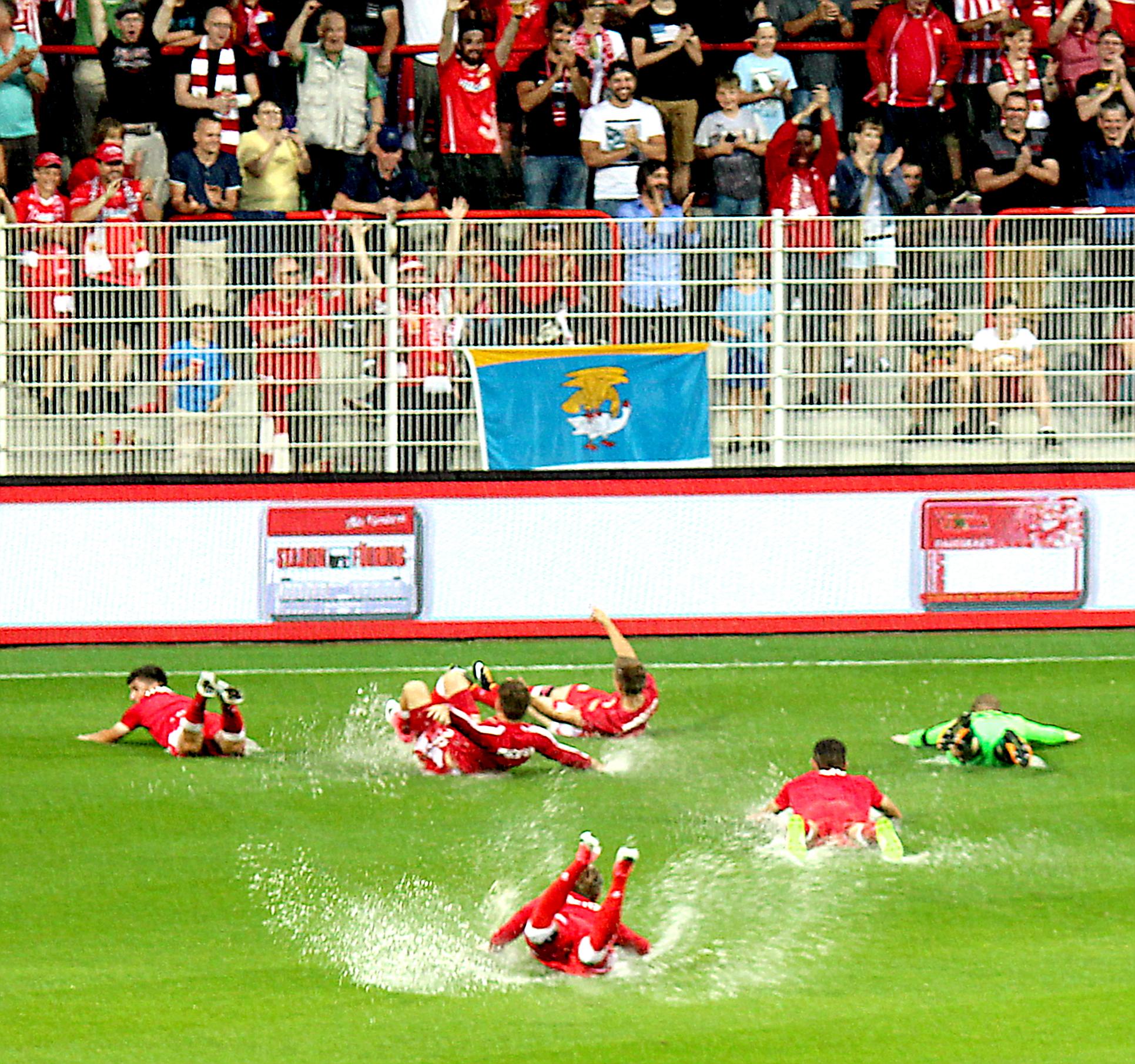 1. FC Union Berlin – letzter Test vor dem Saisonstart fiel ins Wasser