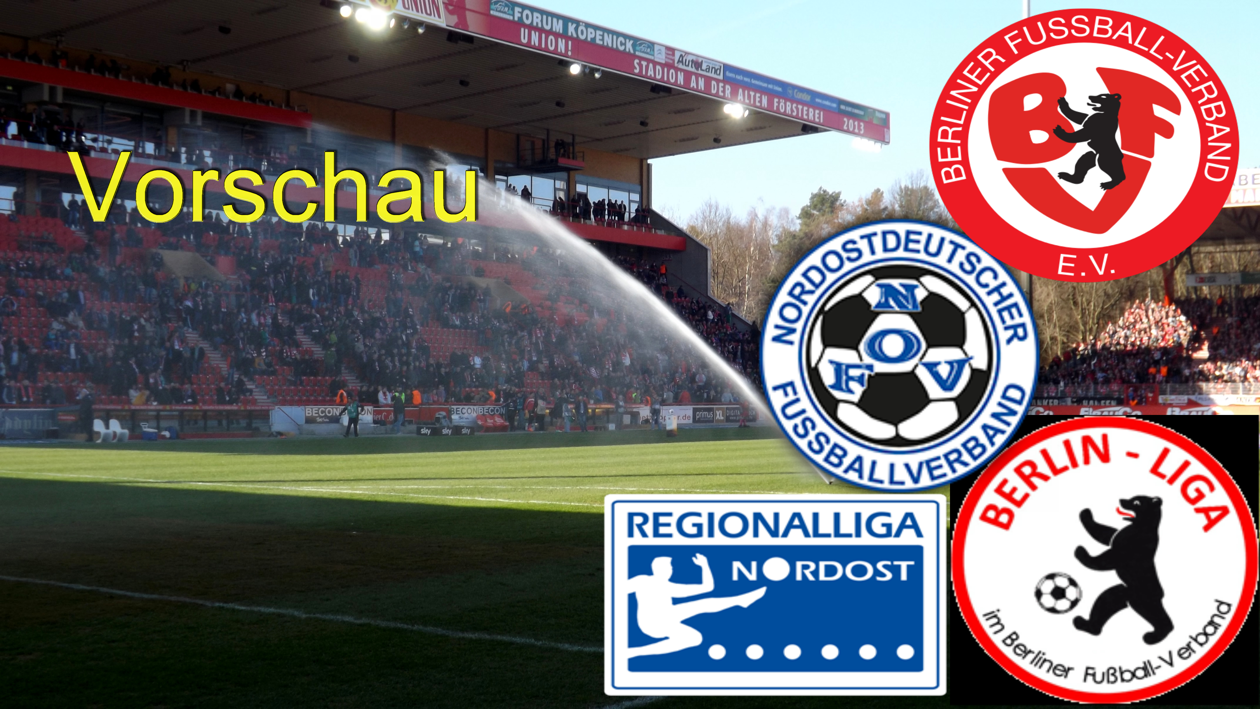 Regionalliga, Oberliga, Berlin-Liga auf Hochtouren