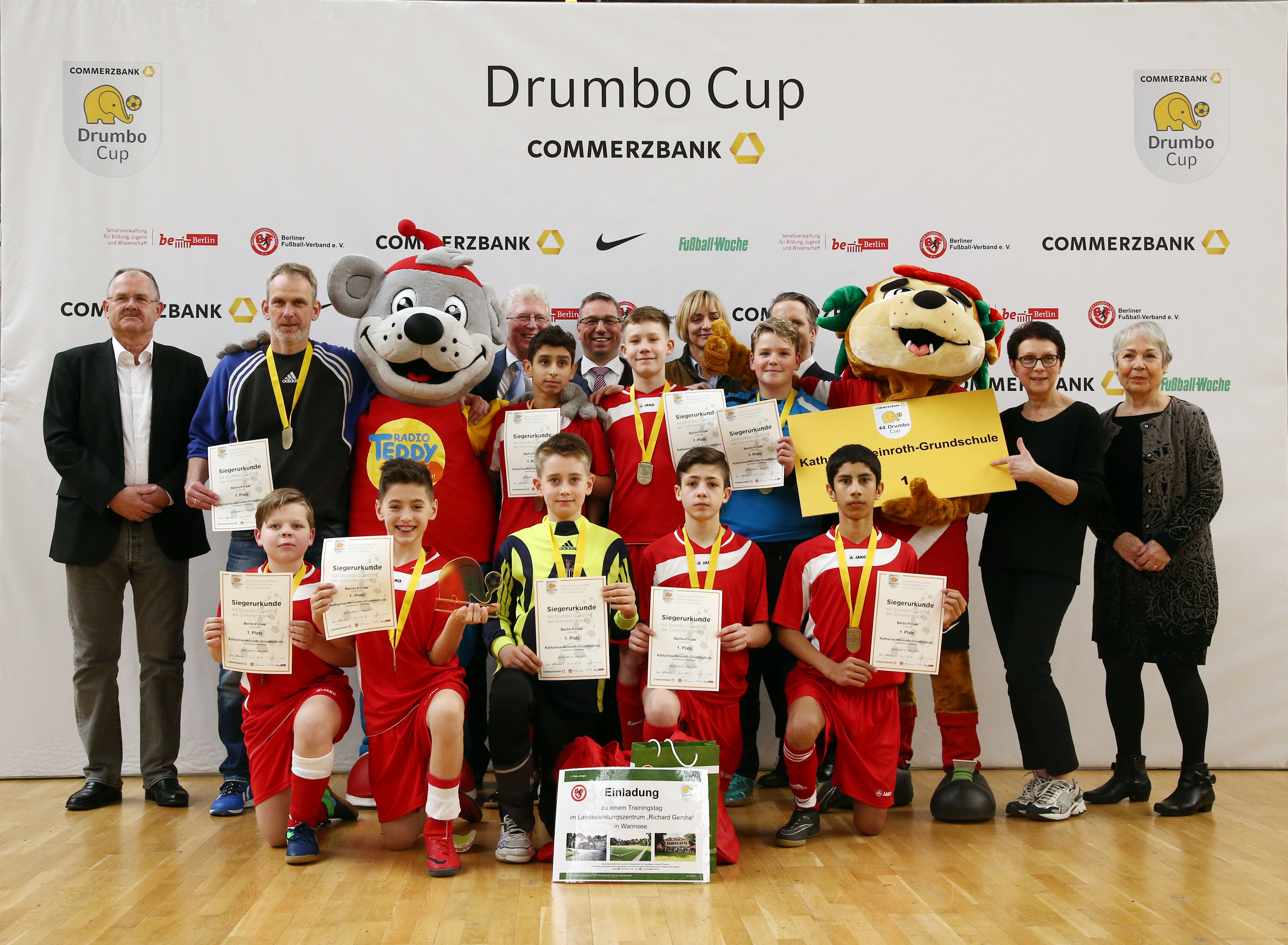 44. Commerzbank Drumbo Cup: So sehen Sieger aus!