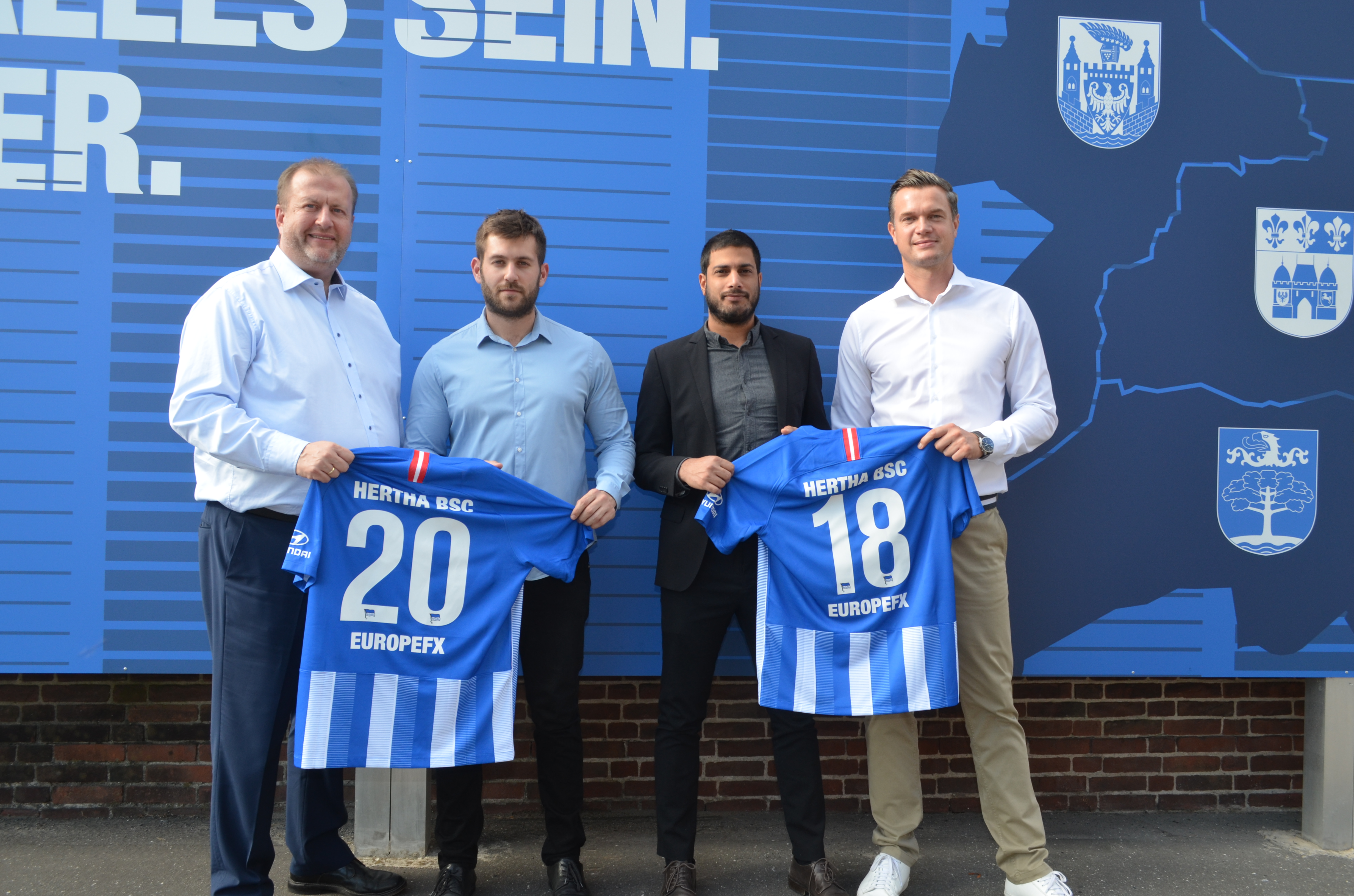 Neuer Sponsor bei Hertha BSC