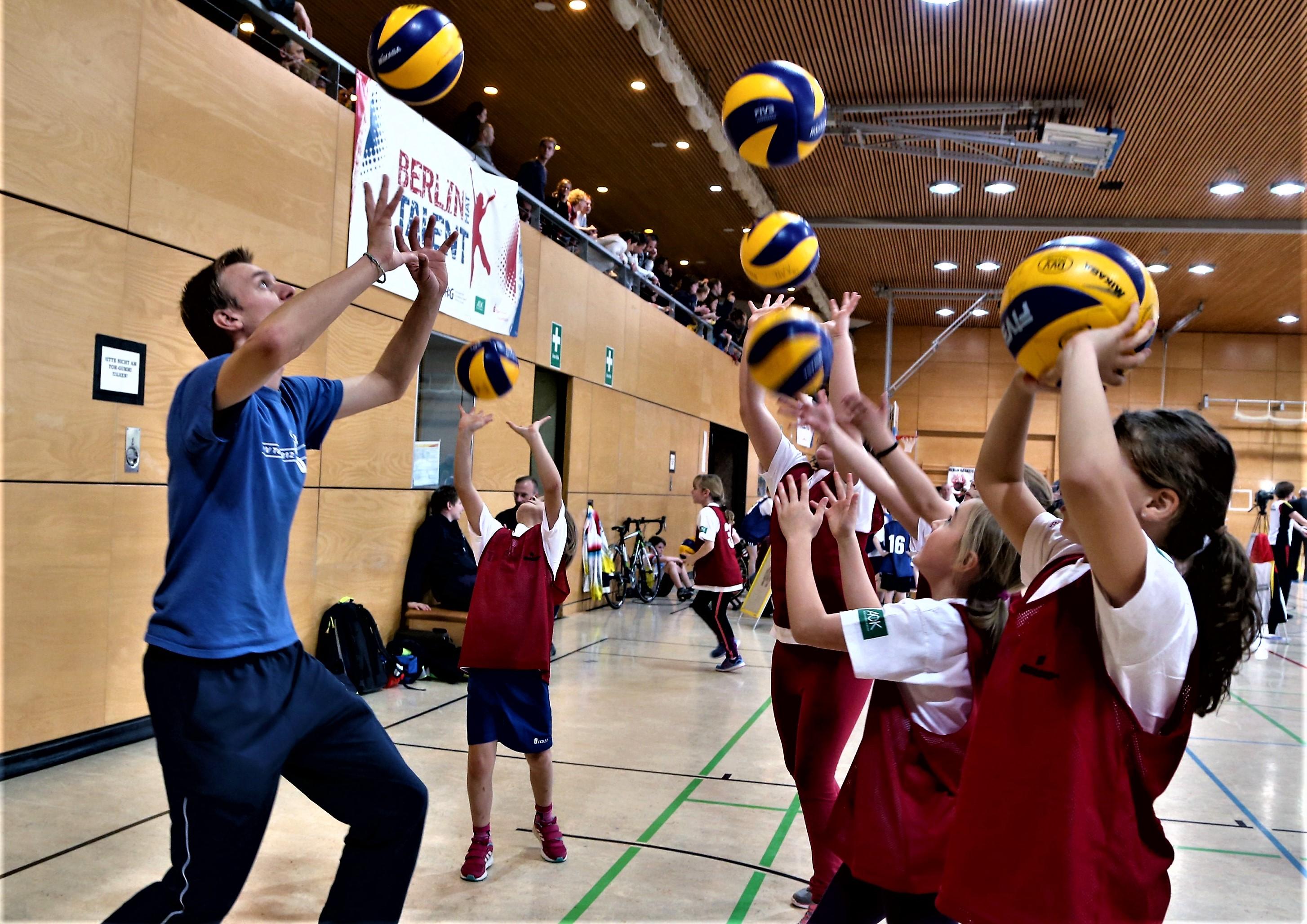 BR Volleys intensivieren Talentsichtung