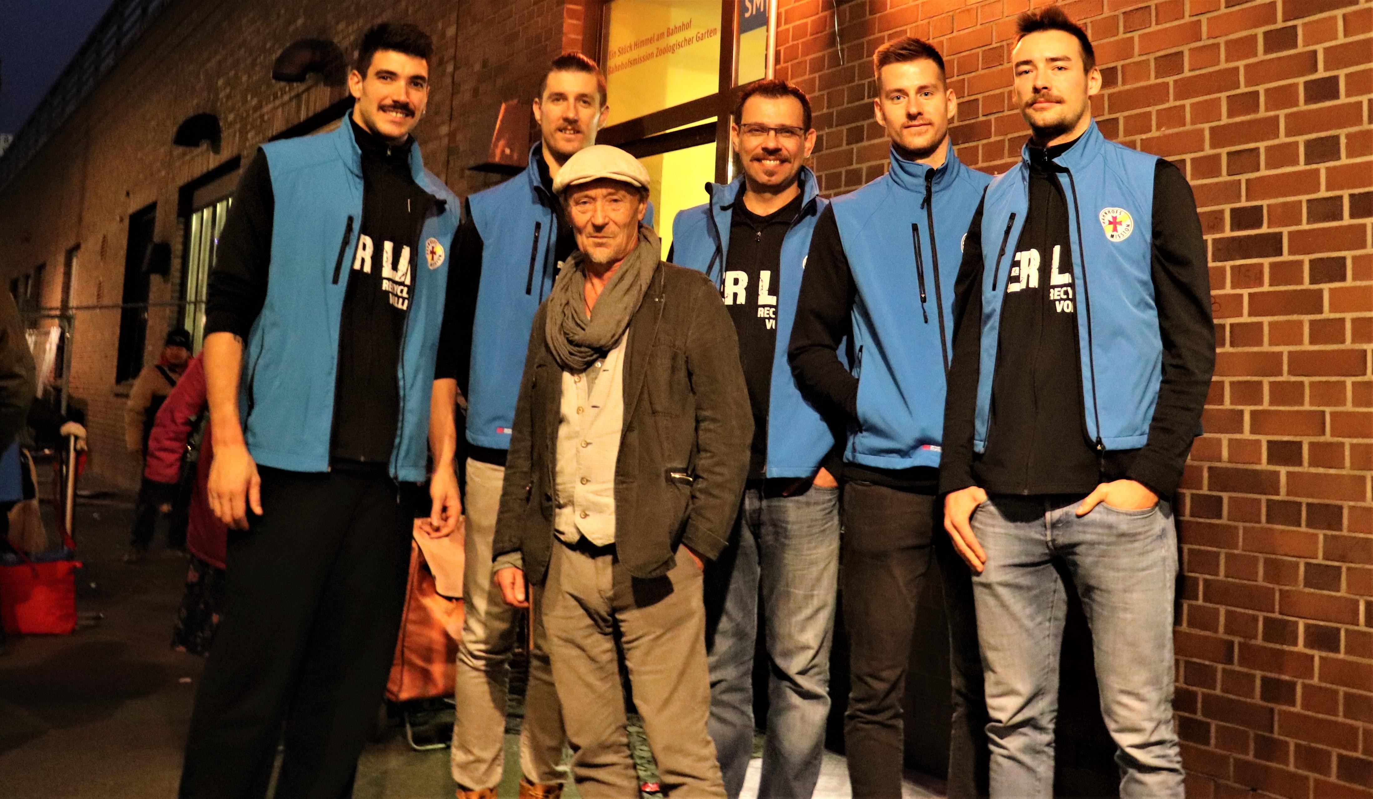 BR Volleys werden Partner der Berliner Stadtmission