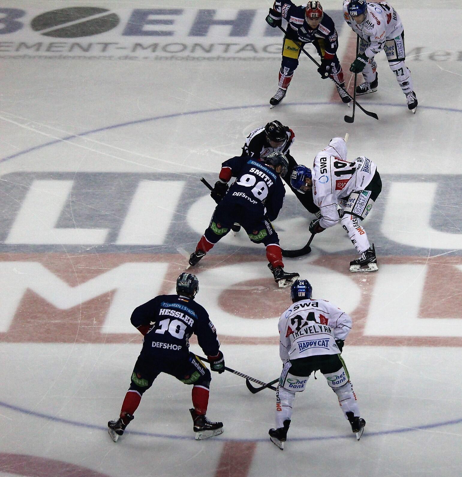 Eisbären verlieren gegen Augsburg und rutschen weiter ab