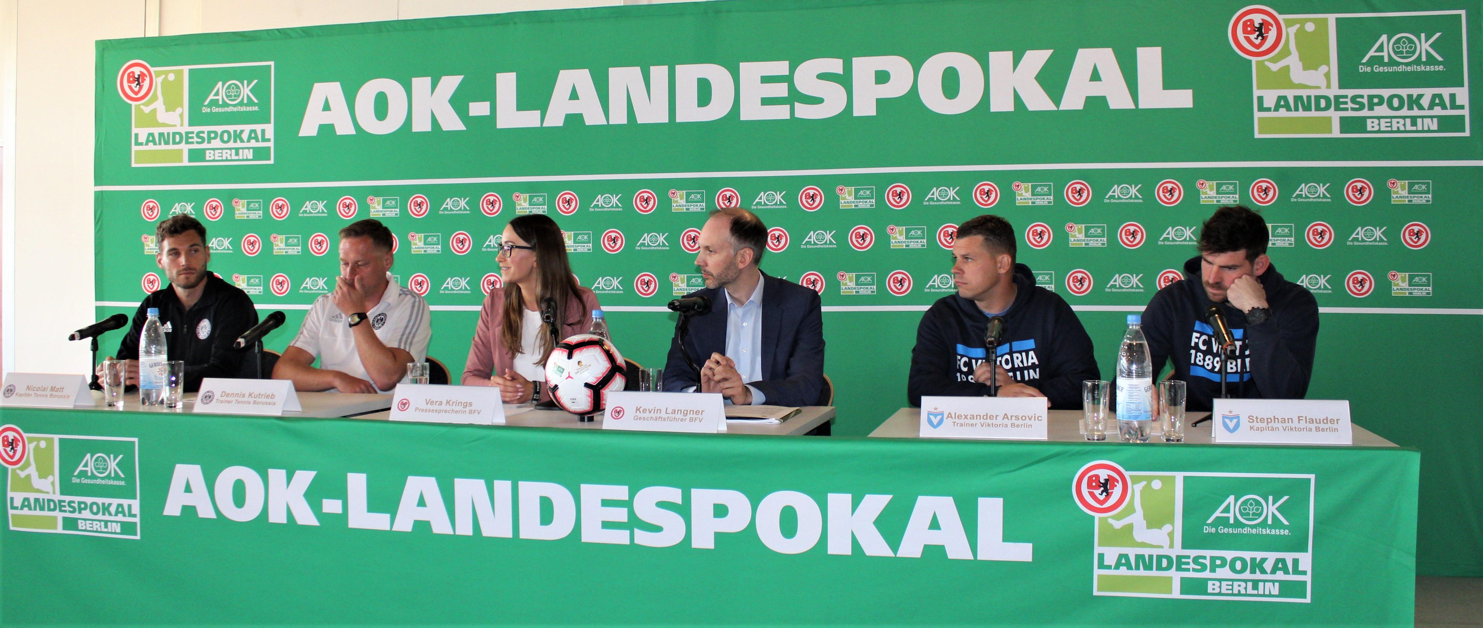 Berliner Pokalfinale 2019 – frühe Anstoßzeit und weniger Zuschauer ?