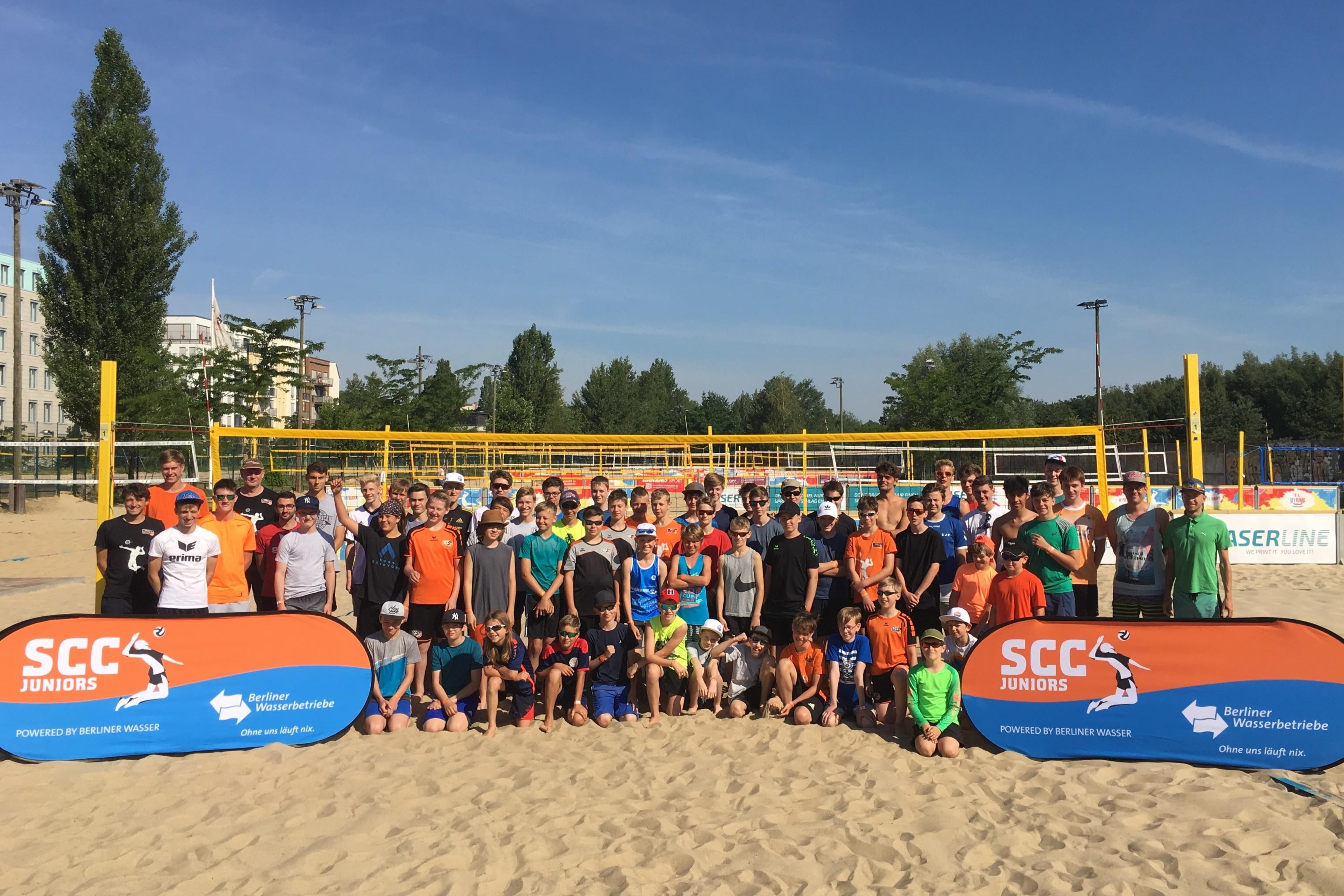 Auf Talente-Camp folgt Volleyball Beachcamp 2019