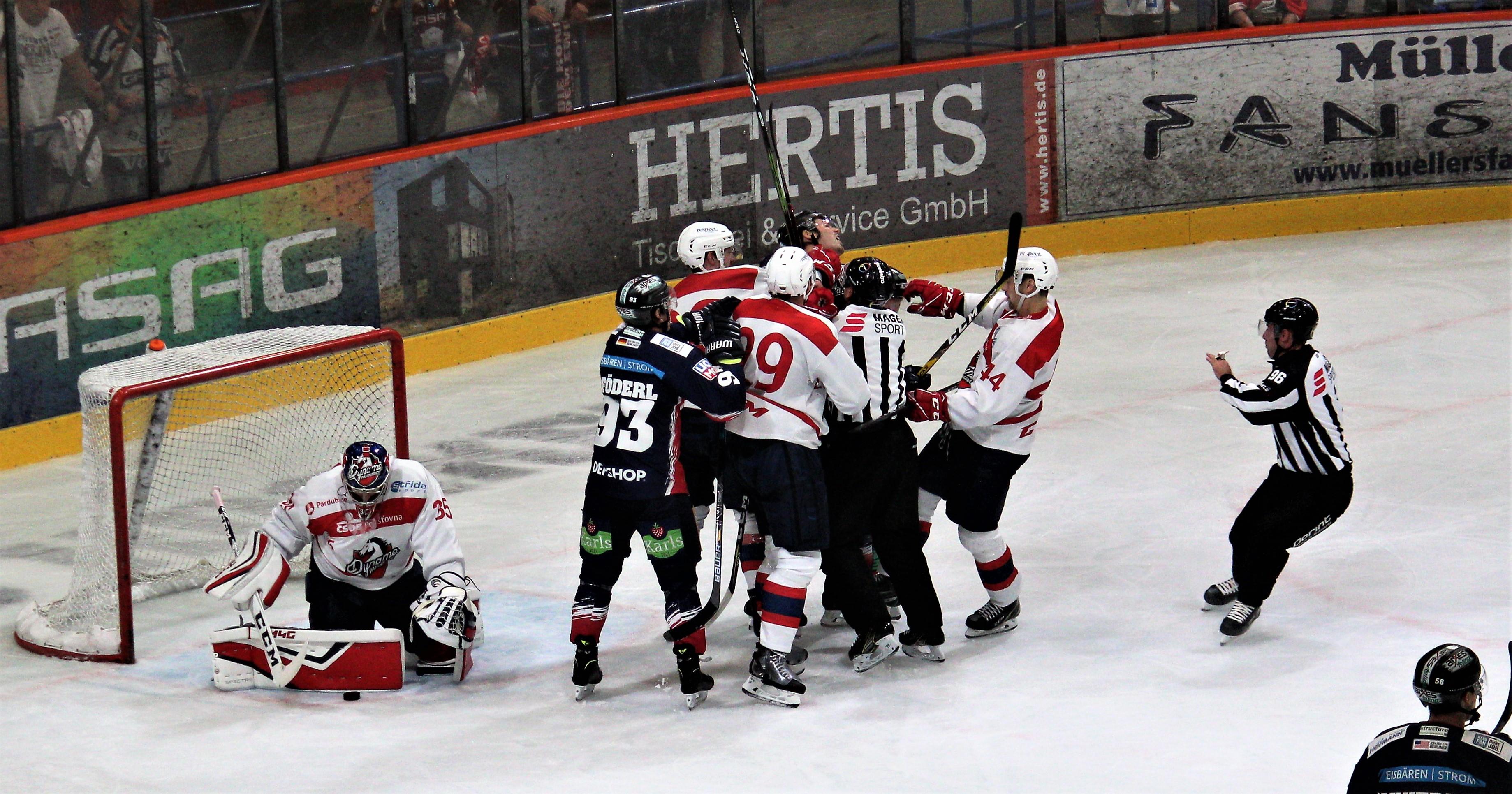 Eisbären testen erfolgreich gegen Dynamo Pardubice