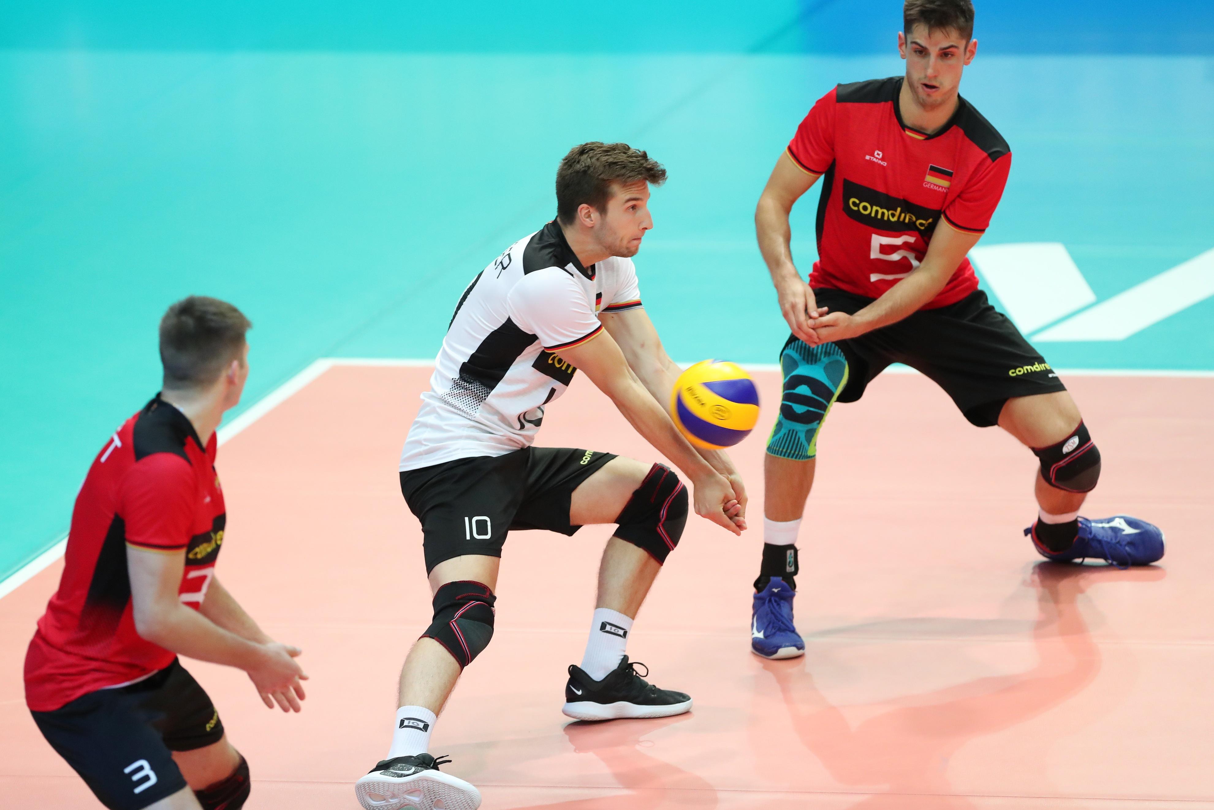 Vier Spieler der BR Volleys auf Medaillenjagd