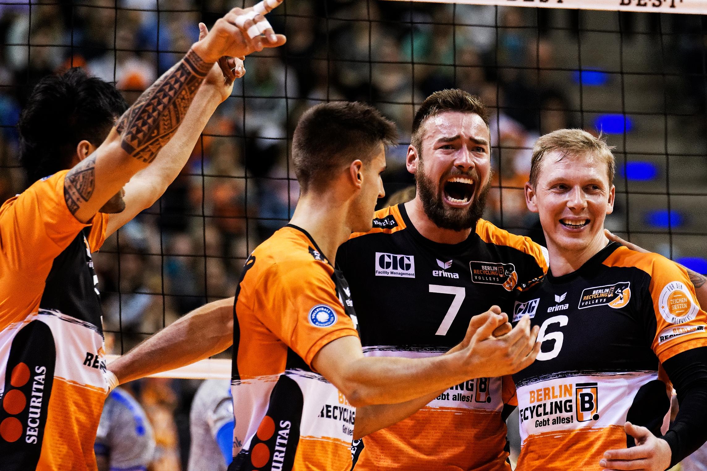 """BR Volleys – Saisonstart in der """"Brandenburghölle"""""""