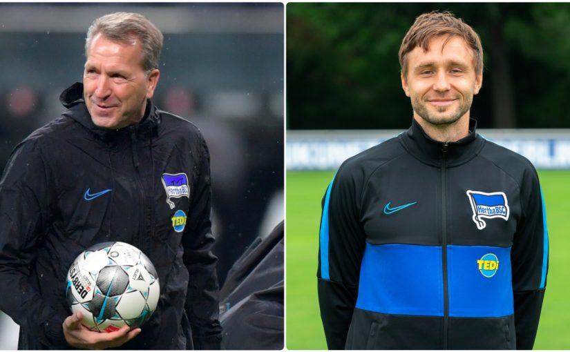 Max Steinborn übernimmt Torwart-Traineramt bei den Hertha-Profis