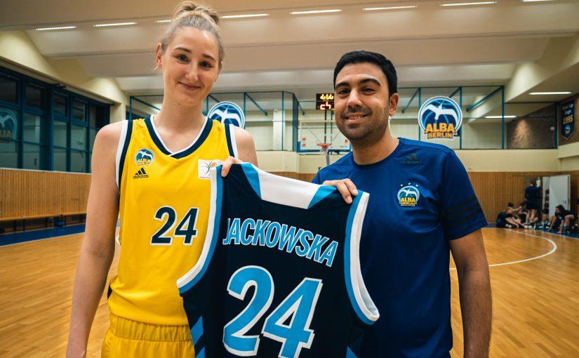 Ewelina Jackowska verstärkt das ALBA-Frauenteam