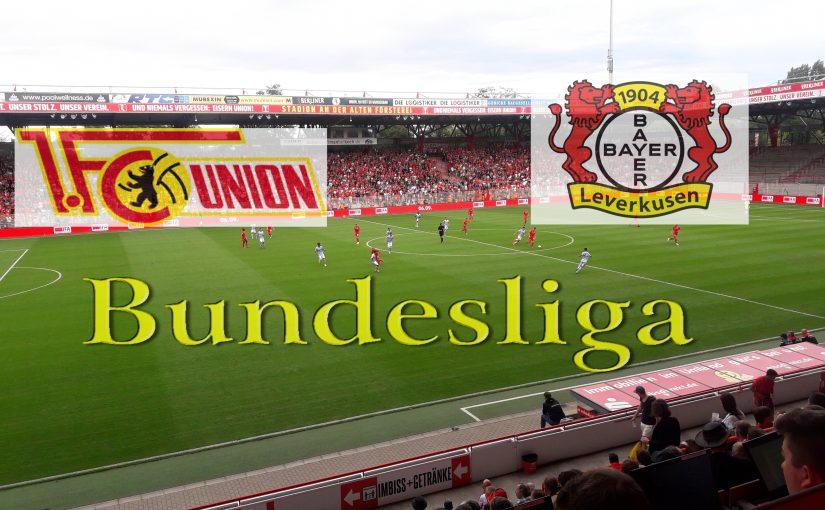 Eine schwere Aufgabe – die Werkself aus Leverkusen kommt