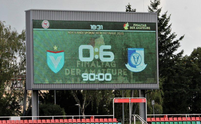 VSG Altglienicke gewinnt das Berliner Pokalfinale