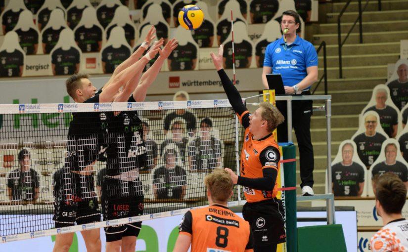 BR Volleys – Auswärtssieg in Gießen
