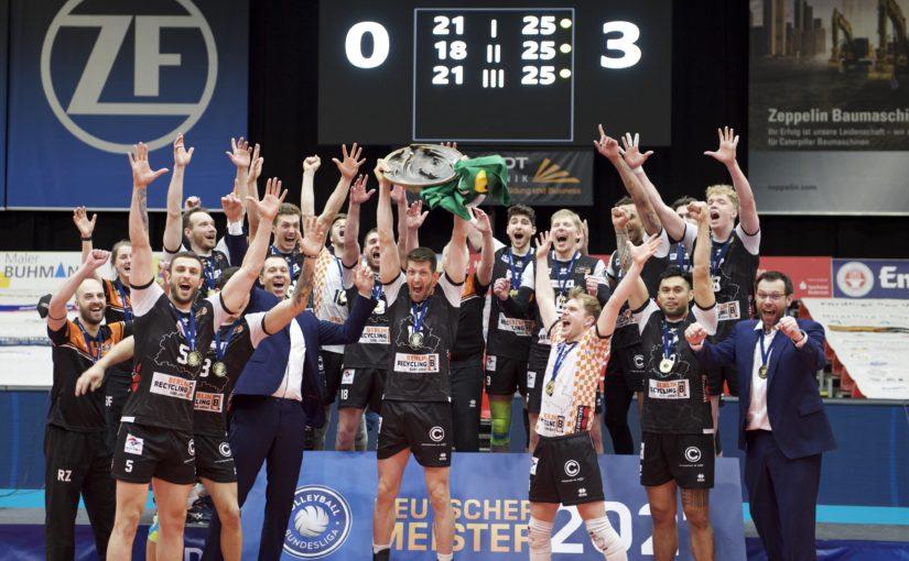 Elfter Meistertitel für die BR Volleys