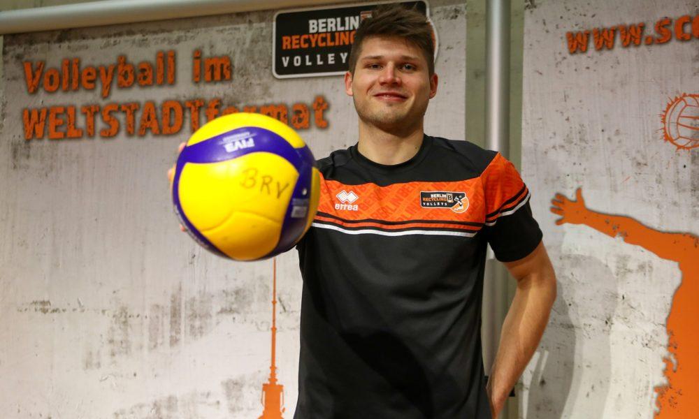 """BR Volleys – Ruben Schott ist """"zurück zu Hause"""""""