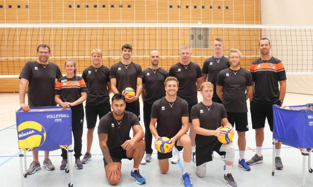 Trainingsauftakt beim Deutschen Meister