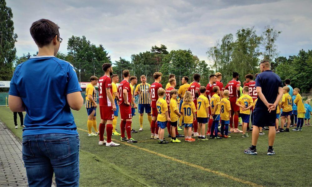 Sportfreunde Kladow spielten gegen Blau Weiß 90