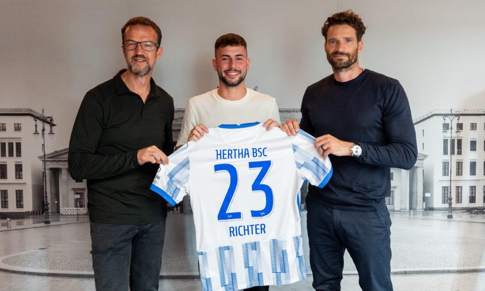 Hertha BSC verpflichtet Marco Richter
